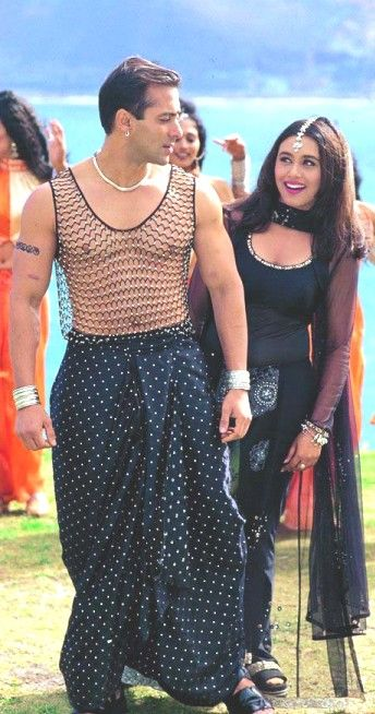 Salman Khan and Rani Mukherjee
