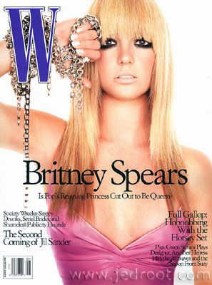 Britney Spears - W Magazine [United States] (1 August 2003)
