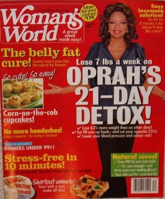 Oprah Winfrey - Woman's World Magazine [United States] (25 August 2008)