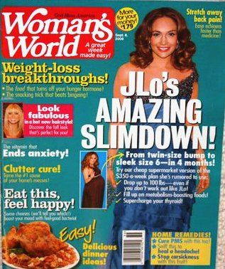 Jennifer Lopez - Woman's World Magazine [United States] (8 September 2008)