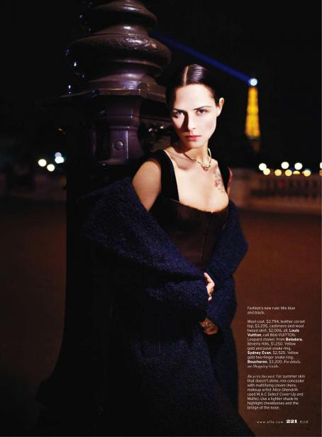 Tasha Tilberg - Elle USA - August 2010