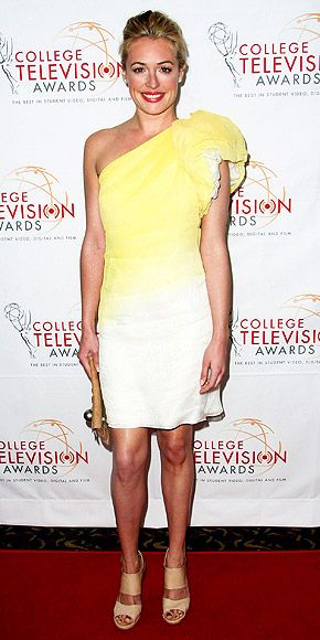 Cat Deeley at the 33rd annual College Television Awards