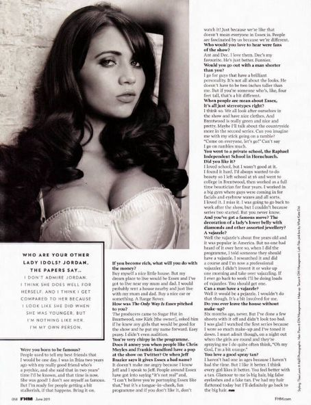 Amy Childs  - FHM Magazine Pictorial [United Kingdom] (June 2011)