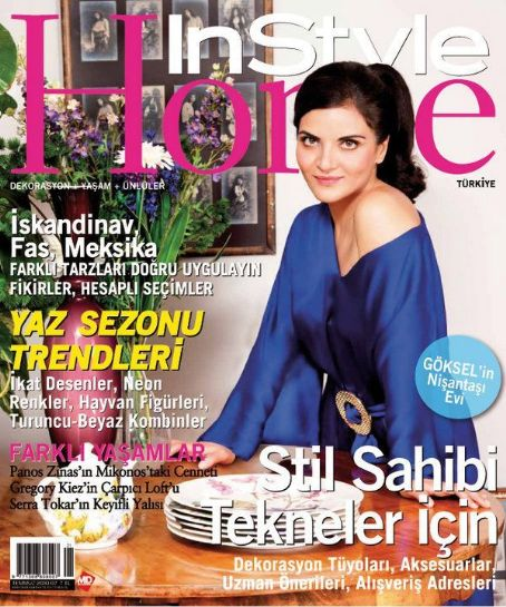 Göksel - InStyle Home Magazine Cover [Turkey] (July 2010)