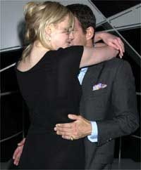 Tim Jefferies  and Sophie Dahl