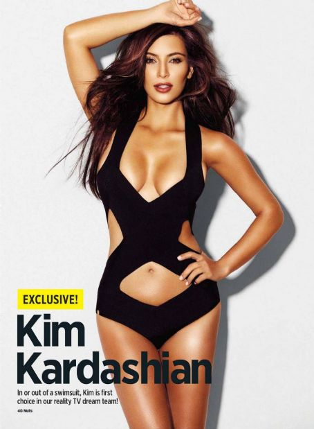 Kim Kardashian Nuts UK September 2012