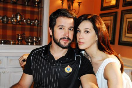 Cláudia Raia Murilo Benicio and Claudia Raia in