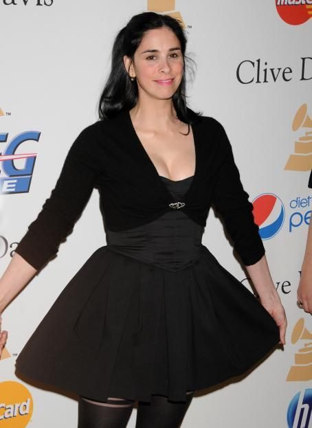 Sarah Silverman - Pre-GRAMMY Gala and Salute To Industry Icons Honoring David Geffen at The Beverly Hilton Hotel on February 12, 2011 in Beverly Hills, California