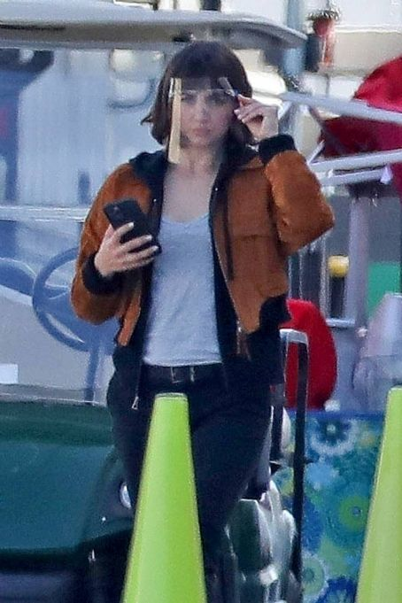 Ana de Armas – on the set of 'The Gray Man' in Los Angeles