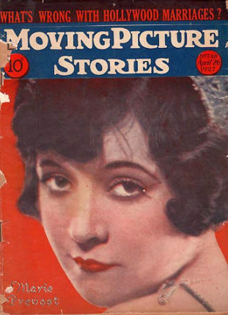 Marie Prevost - Moving Picture Stories Magazine [United States] (26 April 1927)