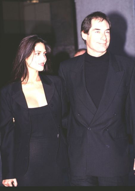Oksana Grigorieva Timothy Dalton and