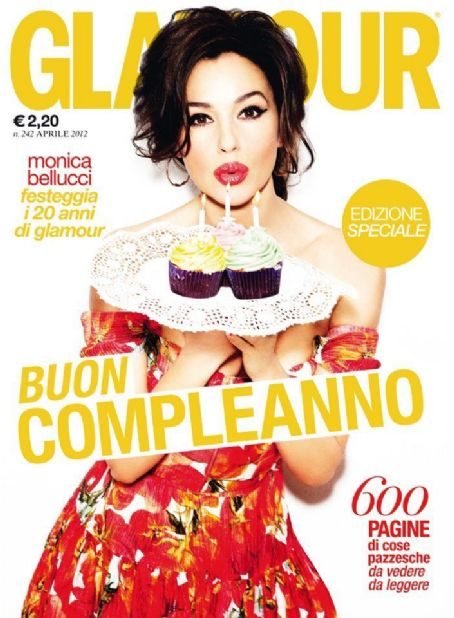 Monica Bellucci - Glamour Magazine Cover [Italy] (April 2012)
