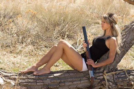 Paige Wyatt  American Guns Terry Gardner Photoshoot