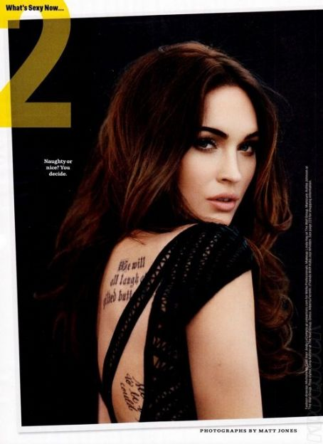 Megan Fox - Cosmopolitan Magazine Pictorial [United States] (April 2012)