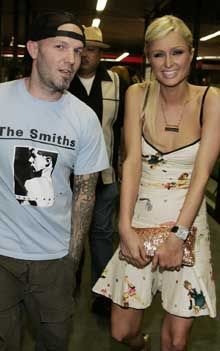 Fred Durst and Paris Hilton