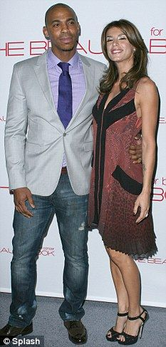 Mehcad Brooks and Elisabetta Canalis