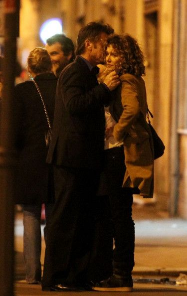 Sean Penn and Valeria Golino