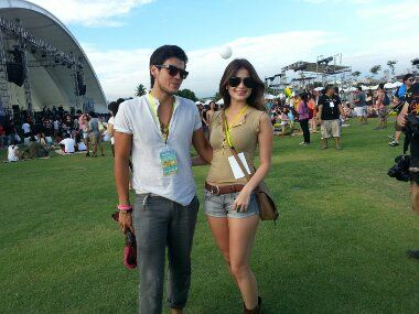 Anne Curtis and Erwan Heusaff