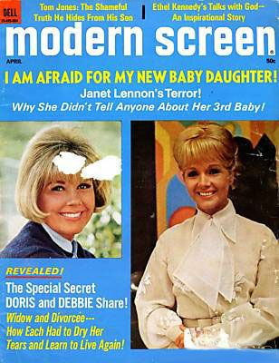 Debbie Reynolds - Modern Screen Magazine [United States] (April 1970)
