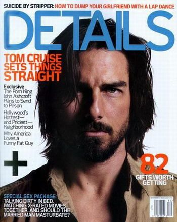 Tom Cruise - Details Magazine [United States] (December 2003)