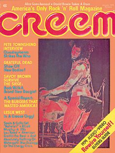 Pete Townshend - Creem Magazine [United States] (January 1974)