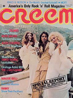 Alice Cooper - Creem Magazine [United States] (August 1974)