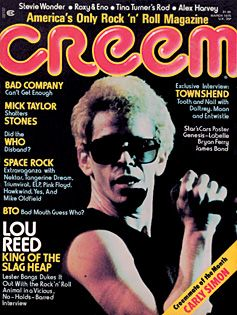 Lou Reed - Creem Magazine [United States] (March 1975)