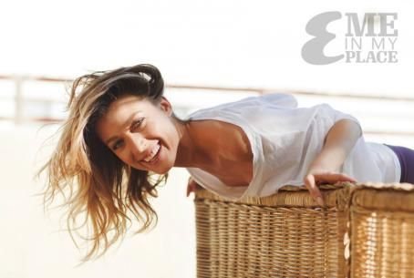 Natalie Zea - Me in My Place Photoshoot for Esquire Magazine