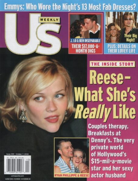 Reese Witherspoon - US Weekly Magazine [United States] (7 October 2002)