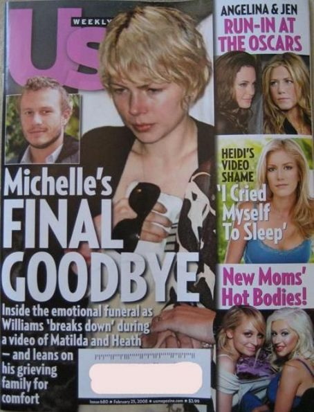 Michelle Williams - US Weekly Magazine [United States] (25 February 2008)