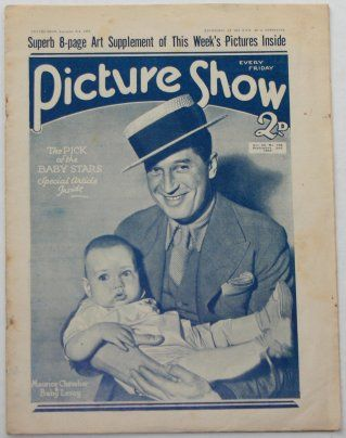 Maurice Chevalier - Picture Show Magazine [United Kingdom] (6 August 1932)