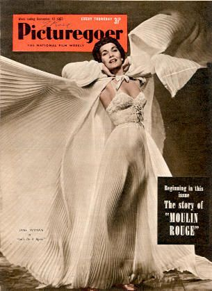 Jane Wyman - Picturegoer Magazine [United Kingdom] (12 September 1953)