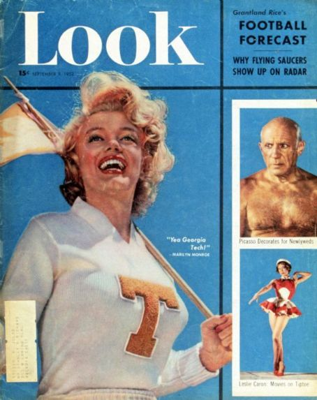 Marilyn Monroe - Look Magazine [United States] (9 September 1952)