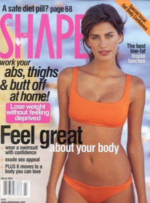 Yamila Diaz - Shape Magazine [United States] (March 2000)