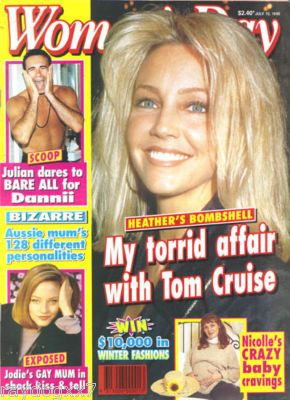Heather Locklear - Woman's Day Magazine [Australia] (10 July 1995)