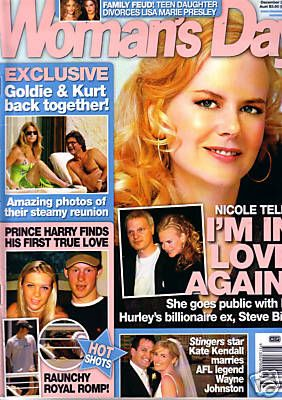 Nicole Kidman - Woman's Day Magazine [Australia] (20 December 2005)