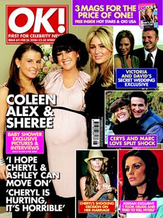 Katie Price - OK! Magazine [United Kingdom] (26 February 2008)