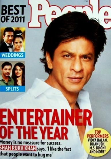 Shah Rukh Khan - People Magazine Cover [India] (January 2012)