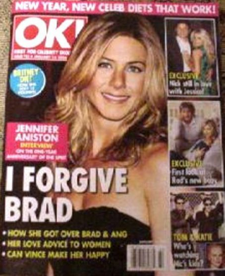 Jennifer Aniston - OK! Magazine [United States] (16 January 2006)