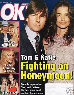 Tom Cruise - OK! Magazine [United States] (11 December 2006)