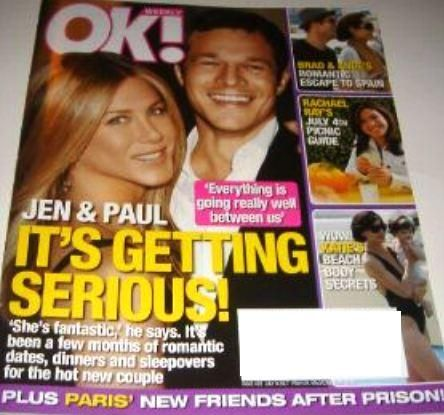 Jennifer Aniston - OK! Magazine [United States] (9 June 2007)