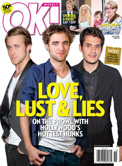 Robert Pattinson - OK! Magazine [United States] (11 May 2009)