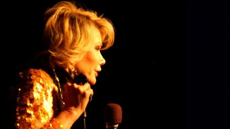 Joan Rivers  in JOAN RIVERS – A PIECE OF WORK directed by Ricki Stern and Annie Sundberg. Photo Credit: Charles Miller. An IFC Films release