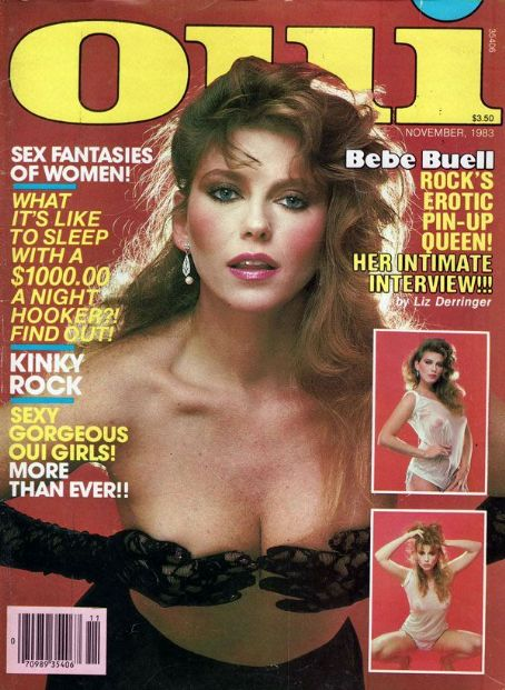 Bebe Buell - Oui Magazine [United States] (November 1983)