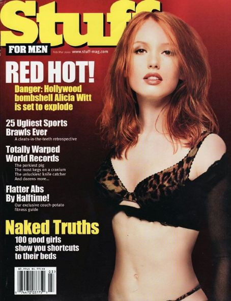 Alicia Witt - Stuff Magazine [United States] (February 2000)