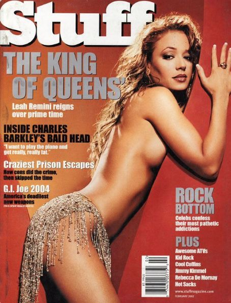 Leah Remini - Stuff Magazine [United States] (February 2002)
