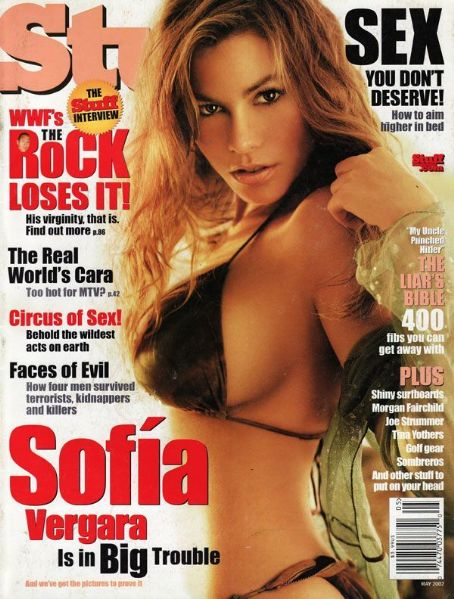 Sofia Vergara - Stuff Magazine [United States] (May 2002)