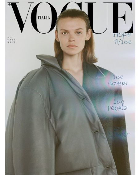 Cara Taylor - Vogue Magazine Cover [Italy] (September 2020)