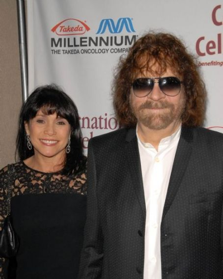 Camelia Kath  and Jeff Lynne