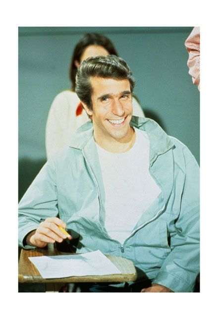 "Henry Winkler as ""The Fonz"""
